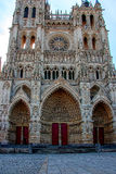 amiens大教堂 结构法国哥特式 免版税库存照片