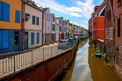 Amiens è una città in Francia del Nord immagine stock libera da diritti