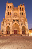 Amiens cathedral Stock Photography