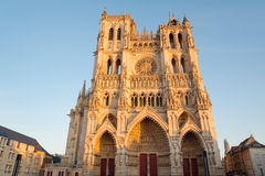 Amiens cathedral Royalty Free Stock Image