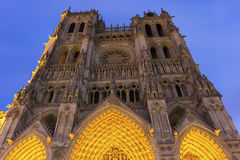 Amiens Cathedral in France Royalty Free Stock Photos