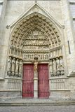 Amiens Cathedral Is A Roman Catholic Cathedral Royalty Free Stock Image