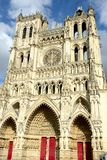 Amiens Cathedral is a Roman Catholic cathedral Royalty Free Stock Photo