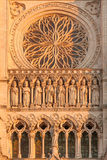 Amiens cathedral Stock Photos