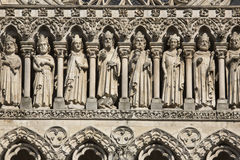Amiens Catherdal - Пикарди - Франция Стоковые Изображения RF