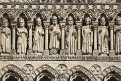 Amiens Catherdal - Picardy -法国 免版税库存图片