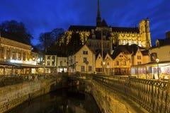 Amiens dans les Frances Image libre de droits