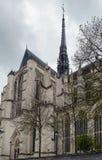 Amiens domkyrka, Frankrike Fotografering för Bildbyråer