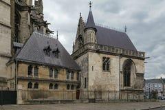 Amiens domkyrka, Frankrike Royaltyfri Bild