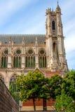 amiens domkyrka gotisk arkitekturfransman Arkivbilder