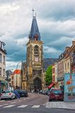 Saint Leu Church in Amiens Picardy France Royalty Free Stock Images