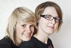 Amies d'adolescente Photo libre de droits