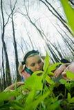 Amies dans la forêt Image libre de droits