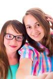 Amies dans un selfie Photo libre de droits