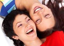 Amies de femmes Photos libres de droits