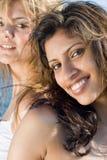 Amies de femmes Photographie stock