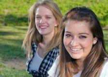 Amies de l'adolescence Image libre de droits