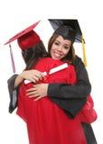 Amies graduées de femmes Image stock