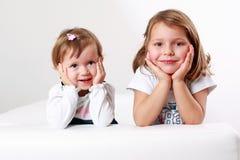 Amigas felizes Imagem de Stock Royalty Free