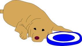 Amigo del perro ilustración del vector
