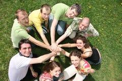Amigos fotografía de archivo
