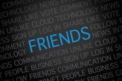Amigos Imágenes de archivo libres de regalías