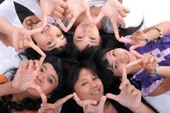 Amigos Foto de Stock