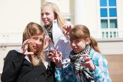 Amigos adolescentes Fotos de archivo libres de regalías