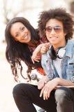 Amigos adolescentes. Imagenes de archivo