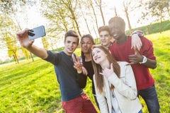 Amigos adolescentes Foto de archivo