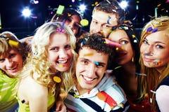 Amigos alegres Foto de Stock