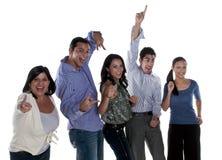 Amigos alegres Imagem de Stock Royalty Free