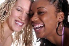 Amigos bonitos felizes Foto de Stock Royalty Free