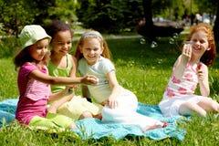 Amigos brincalhão Fotografia de Stock