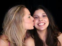 Amigos cariñosos Foto de archivo libre de regalías