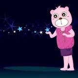 Amigos da estrela do urso Foto de Stock
