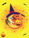 Amigos da lua de Witchy Imagem de Stock