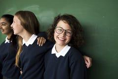 Amigos de Education School Academic del estudiante Imagenes de archivo