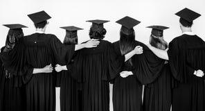 Amigos de Education School Academic del estudiante Foto de archivo libre de regalías
