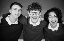 Amigos de Education School Academic del estudiante Fotografía de archivo libre de regalías