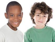 Amigos de los niños foto de archivo libre de regalías