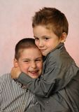 Amigos de los niños Imagen de archivo