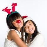 Amigos de menina Fotos de Stock