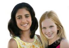 Amigos de menina Imagens de Stock