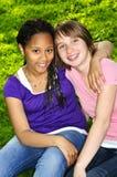 Amigos de muchacha Fotos de archivo