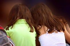 Amigos de muchacha Imagen de archivo libre de regalías