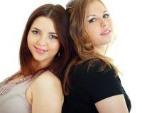 Amigos de muchacha atractivos Fotos de archivo