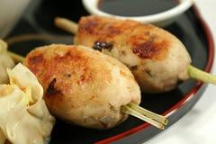 Amigos de Rolls Yum da galinha fotografia de stock royalty free