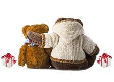 Amigos del oso Fotografía de archivo