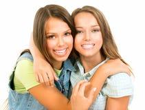 Amigos do adolescente Foto de Stock
